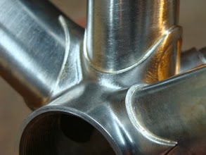Photo: More curves on this shot of the bottom bracket.