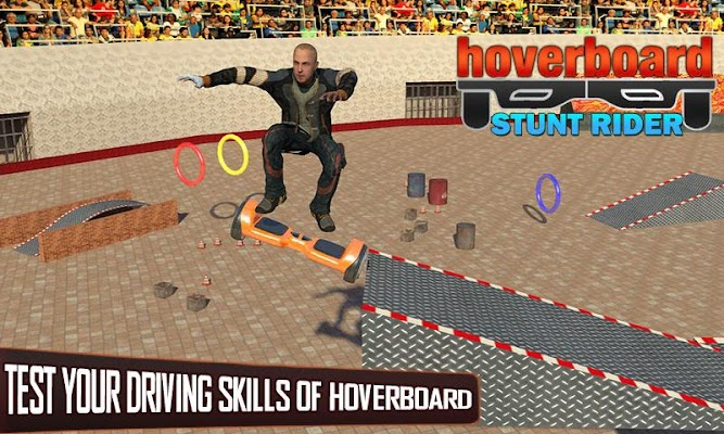 Hoverboard Stunts Mania 2017 - screenshot