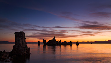 Photo: One of my favorite events and places.....Sunrise at Mono Lake. ♬♬♬ Mogwai- Friend of the night http://www.youtube.com/watch?v=d5GdkOXmcyk  You can read about Mono Lake's Environmental Recovery here: http://www.monolake.org/about/story