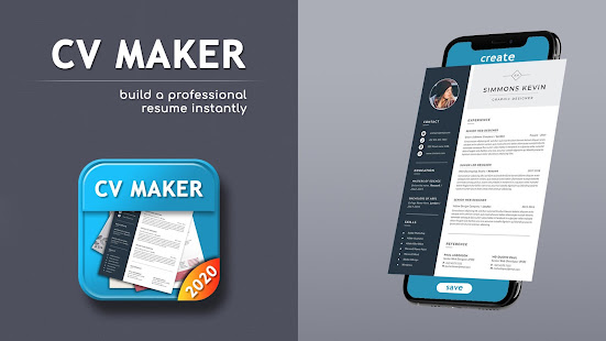 Cv Maker 2020 New Resume Builder 2020 Apps On Google Play