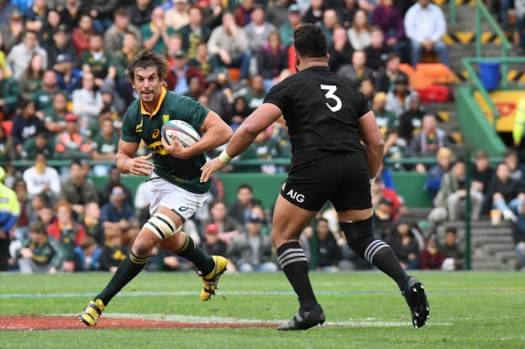 Eben Etzebeth of the Springboks during the Rugby Championship 2017 match between South Africa and New Zealand at DHL Newlands on October 07, 2017 in Cape Town.