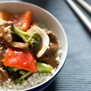 Ginger Beef Stir-Fry from Ditch The Wheat.