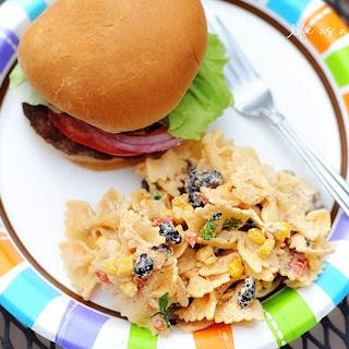Fiesta Chicken Pasta Salad.