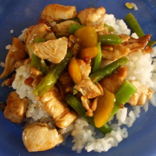 Slow Cooker Chicken with Almond and Rice
