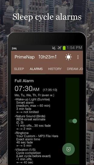 PrimeNap Sleeptracker website - free download  apk for android