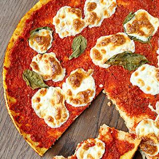 Cauliflower Pizza Crust Alla Margherita