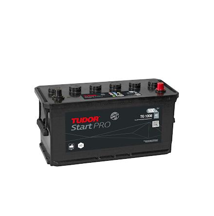 Tudor/Exide batteri 12V/100Ah