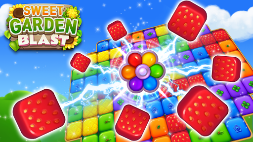 Sweet Garden Blast Game apkmr screenshots 2