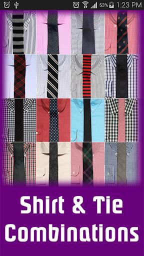 Shirt Tie Combinations