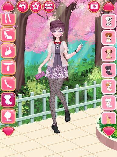 Anime Girls Fashion - Makeup & Dress up apktram screenshots 13