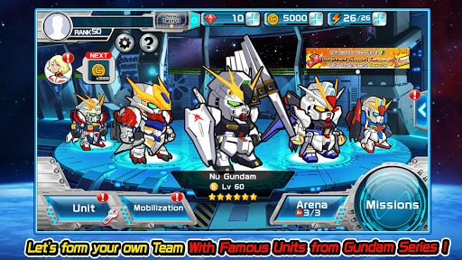 Télécharger LINE: GUNDAM WARS apk mod screenshots 3