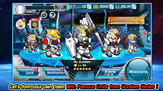 LINE: GUNDAM WARS Mod Apk Download For Android and Iphone 3