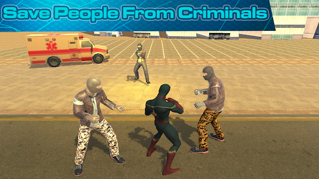 Captain Spider - SuperHero Adventure apk screenshot