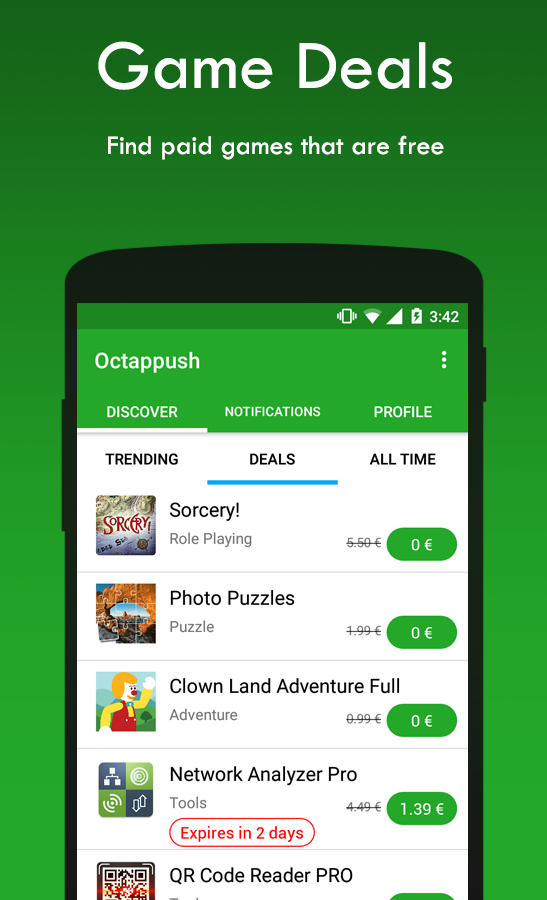 Octappush 🎮 Social Network for Mobile Gamers - στιγμιότυπο οθόνης