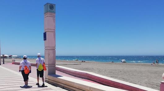Empieza a trabajar el primer turno de vigilantes de las playas en Almería