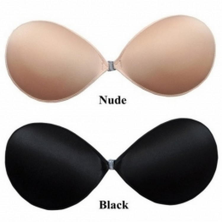 3D Padded Push up Ultralite Cloth Nu-bra Nubra Silicone Cloth Adhesive Bra by Supermodels Secrets