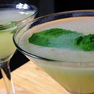 Fresh Basil Martinis Recipes