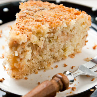 Feijoa And Coconut Cake.