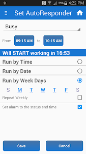Busy SMS Text Messaging PRO screenshot 1
