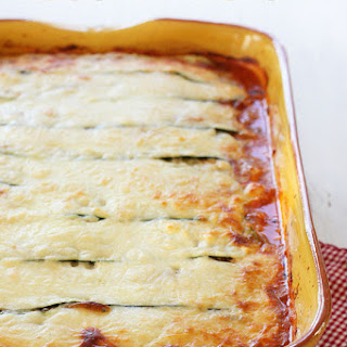 Zucchini Lasagna Without Pasta Recipes.