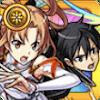 閃光のアスナ&黒の剣士キリトの評価