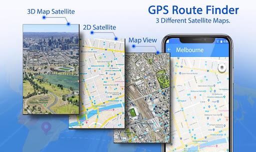 Download GPS Route Finder & Transit: Maps Navigation Live on PC