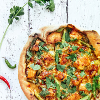 Thai Chicken Pizza