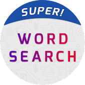 Super Word Search Game - Connect Letters To Solve