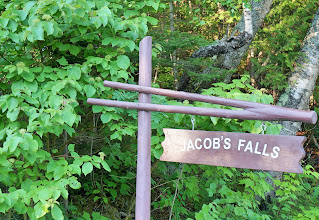 Photo: We made a quick stop at Jacob's Falls on the way to our first stop on the day's tour.