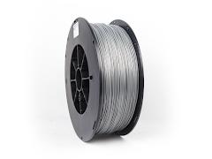 Silver PRO Series PLA Filament - 3.00mm (5lb)