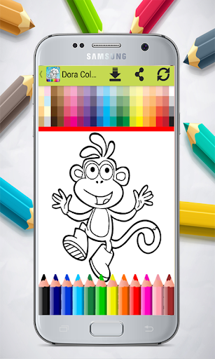 Dora Coloring Book Apk 10