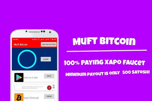 Download Muft Bitcoin - 100% paying xapo faucet APK latest version ...