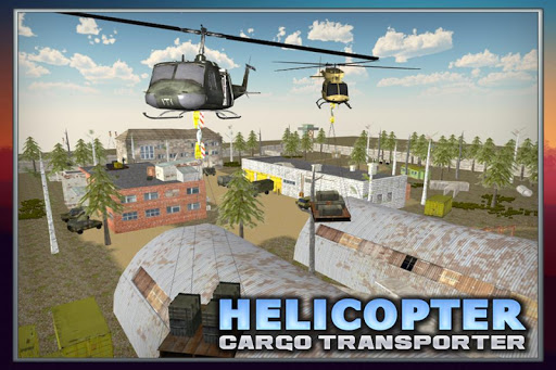 Helicopter Cargo Transporter