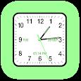 Analog Clock Square