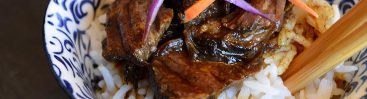 Korean BBQ Beef {in the Slow Cooker} Recipe