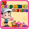 Gold Miner For Kids icon