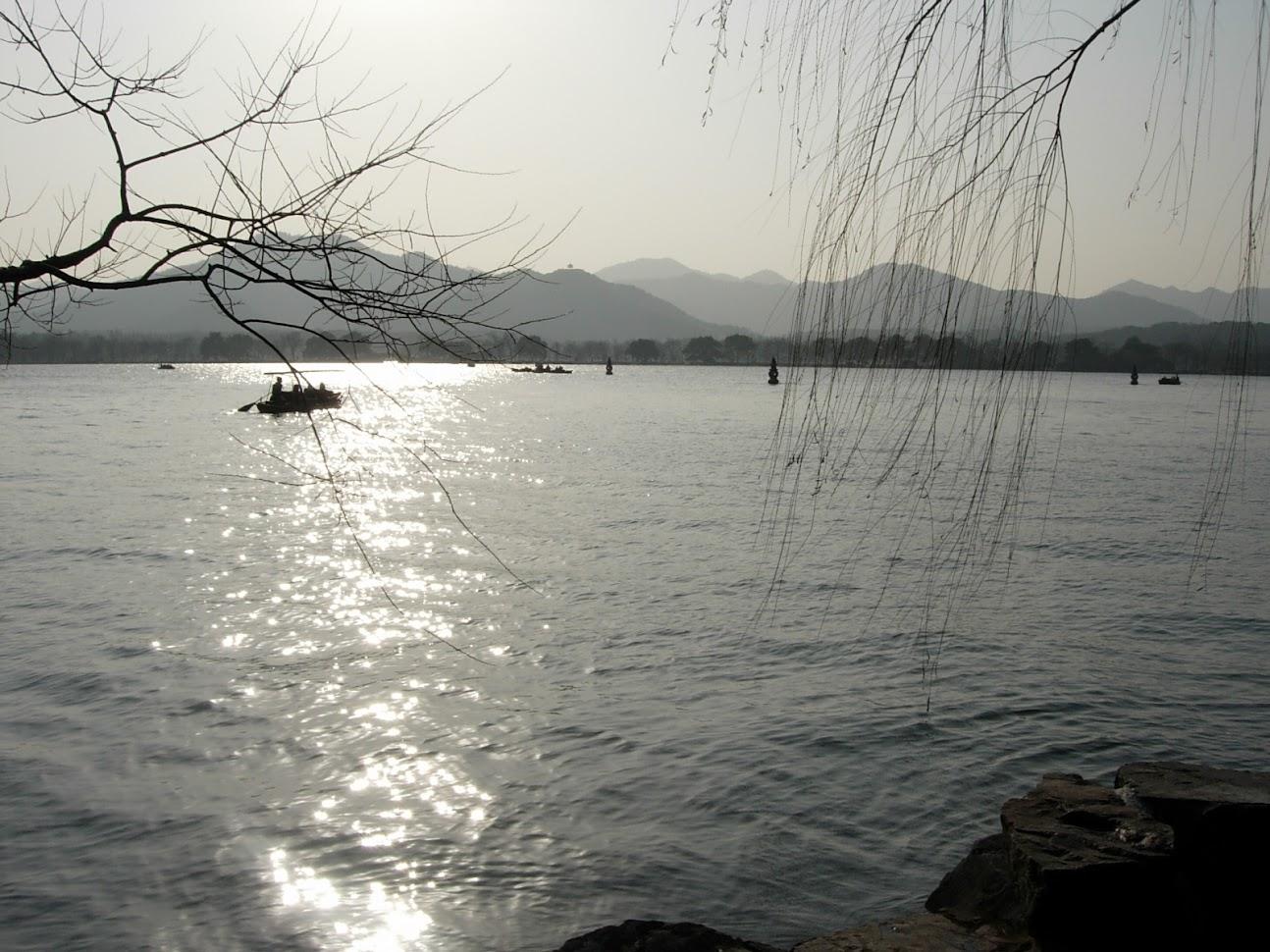 Lac de l'Ouest à Hangzhou