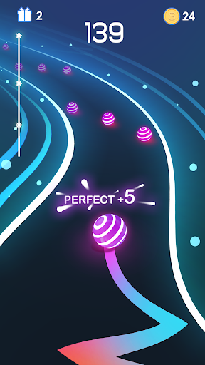 Dancing Road: Colour Ball Run!  captures d'u00e9cran 3