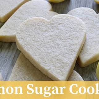 Honey Lemon Sugar Cookies.