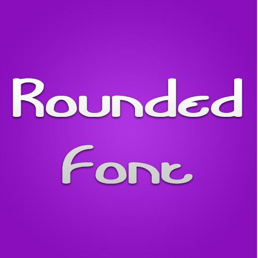 Round Fonts for FlipFont® Plus