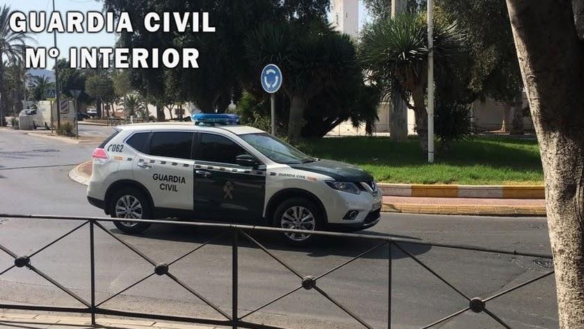 La Guardia Civil investiga una presunta simulación de delito en Campohermoso