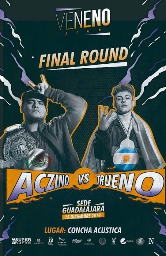 Aczino vs Trueno Final Round / Liga Veneno