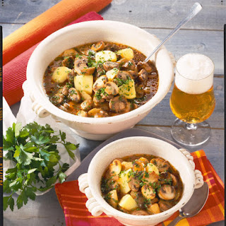 Potato and Mushroom Stew.