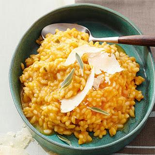 Gluten Free Pumpkin-Parmesan Risotto