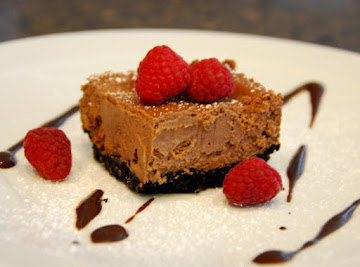 Raspberry Chocolate Chipotle Cheesecake Recipe