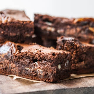 The Most Goo-Iest Gooey Brownies Ever.