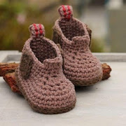 Crochet Baby Shoes by Smartongroup icon