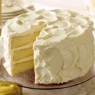 White Christmas Butter Cake