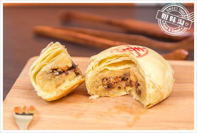 朗月手工綠豆椪禮盒-香菇素肉綠豆椪
