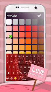 Love Emoji Keyboard - náhled